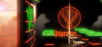 Jägermeister_Twotimestwentyfeet_Container_Architektur_Container_lounge_Design_barzone_Festival_Beförderung_Container_2x20ft_Gastfreundschaft_Show_Gastronomie_Verkaufsvorführung