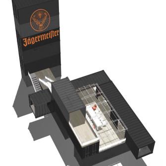 Jägermeister_Twotimestwentyfeet_Container_Architektur_Container_lounge_Design_barzone_Festival_Beförderung_Container_2x20ft_Gastfreundschaft_Show_Gastronomie_Verkaufsvorführung_01