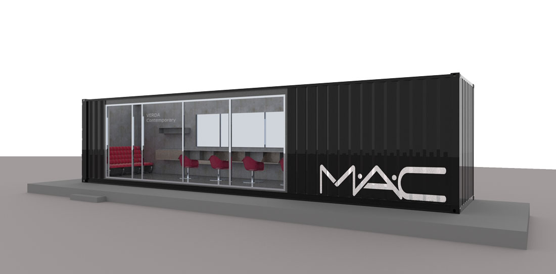beauty salon container 2012 2x20ft experts in container architecture. Black Bedroom Furniture Sets. Home Design Ideas