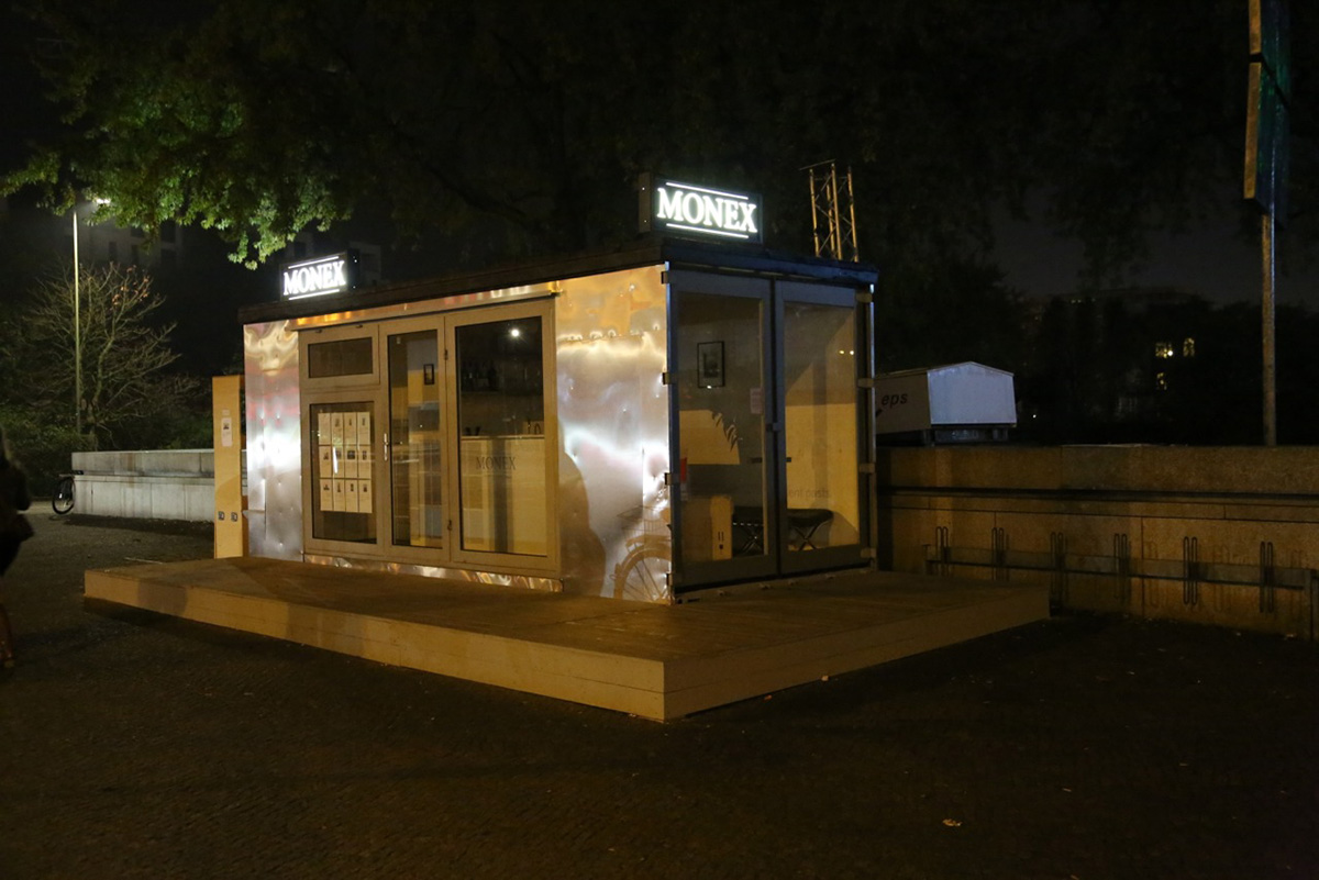 Container Haus Berlin event monex national gallery berlin fall 2014 2x20ft