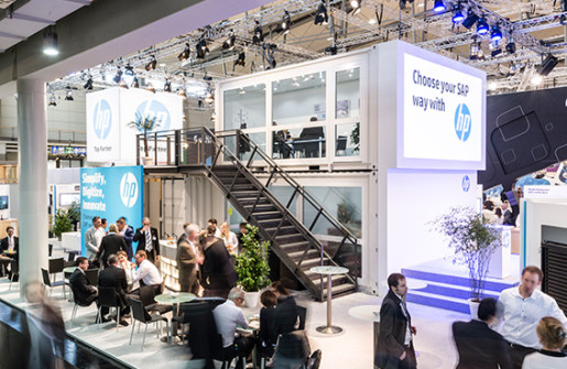 CeBIT_Heweltt_Packard_Stand_twotimestwentyfeet_2x20ft_container_office_container_architecture_fair_stand