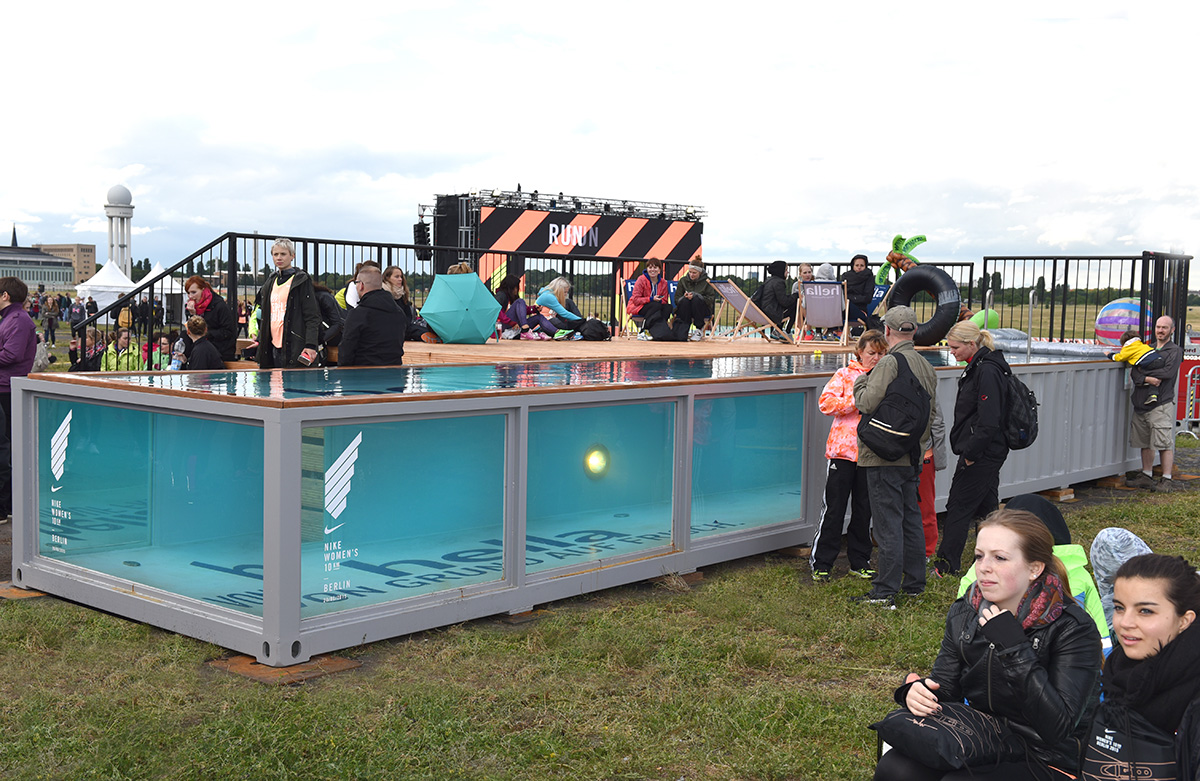 Container Pool Nike Women S Run Berlin Summer 2015