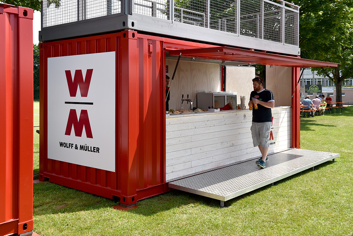 Event Barcontainer Wolff Muller Ludwigsburg Summer 2015 Flap