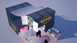 SONOS STAND , Trade Show IFA , Autumn 2014