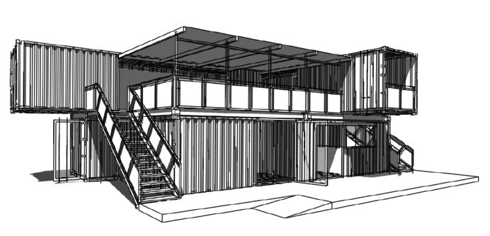 Artdepartment_Container-Gebäude_Club-House