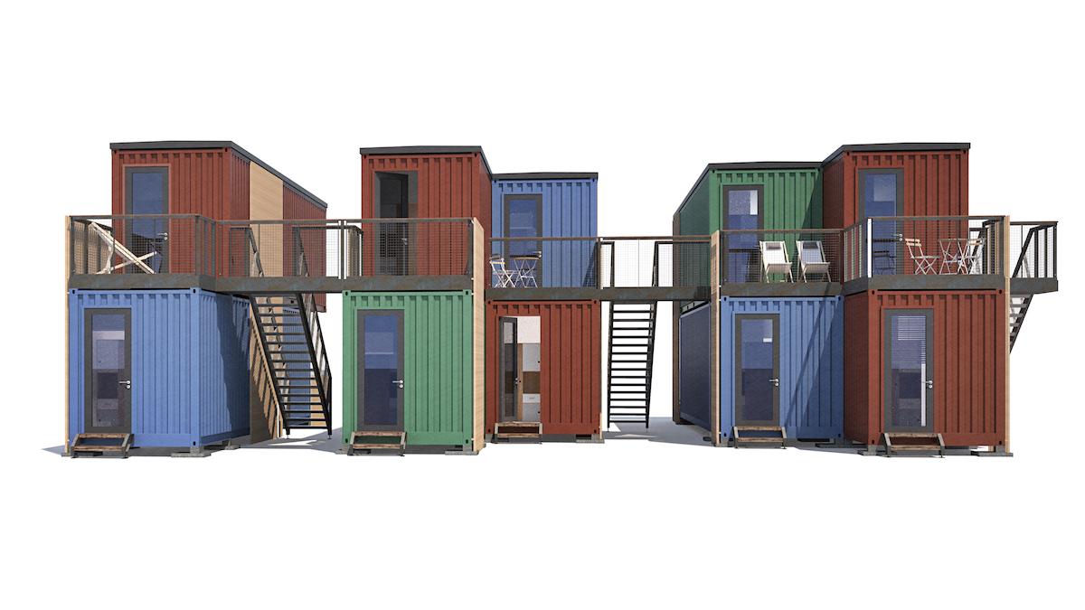 studentenwohnheim klagenfurt i sterreich 2015 2x20ft die spezialisten im bereich der. Black Bedroom Furniture Sets. Home Design Ideas