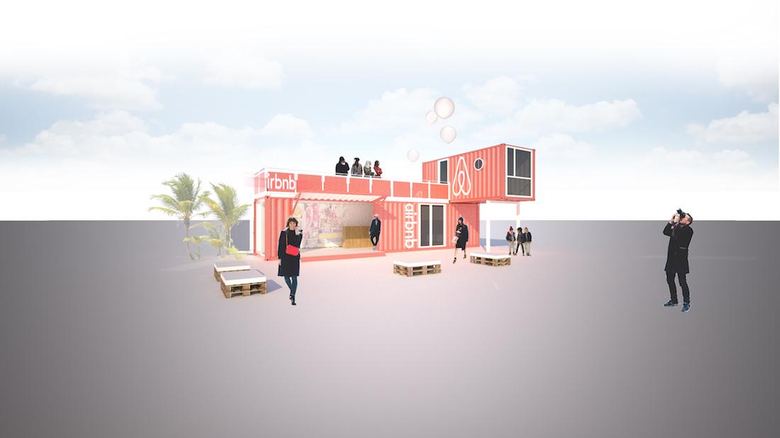 airbnb promotion container konzept 2015 2x20ft die spezialisten im bereich der container. Black Bedroom Furniture Sets. Home Design Ideas